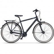 "Bicicleta CROSS Citerra Man City 28"" gri/negru 48 cm"
