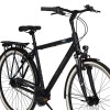 "Bicicleta CROSS Citerra Man City 28"" gri/negru 48 cm"