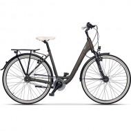 "Bicicleta CROSS Citerra LS City 28"" maro/negru 43 cm"