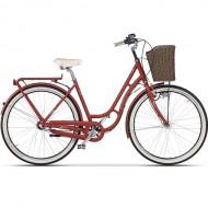 "Bicicleta CROSS Picnic 28"" rosu 45 cm"