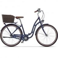 "Bicicleta CROSS Picnic Plus 28"" albastru 43 cm"