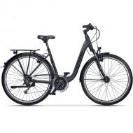 "Bicicleta CROSS Prolog LS RD 28"" gri/negru 50 cm"
