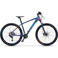 "Bicicleta CROSS Xtreme 27.5"" albastru/portocaliu 46 cm"