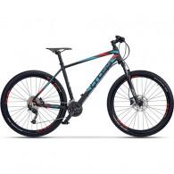 "Bicicleta CROSS Fusion Man 29"" negru/albastru/rosu 46 cm"