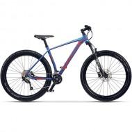 "Bicicleta CROSS X-Tend Plus Pro 27.5""+ albastru/portocaliu 44 cm"