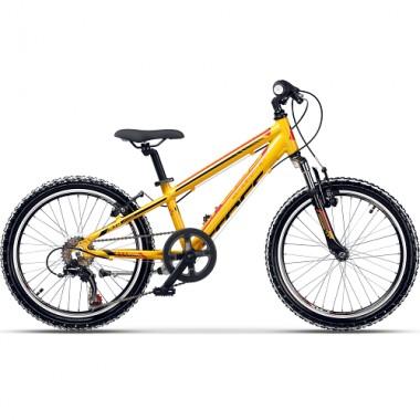 "Bicicleta CROSS Speedster 20"" galben/rosu 26 cm"