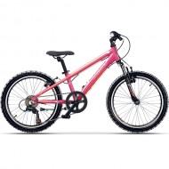 """Bicicleta CROSS Speedster 20"""" roz/portocaliu 26 cm"""