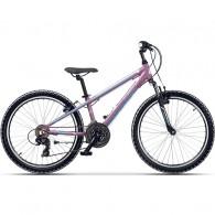 """Bicicleta CROSS Speedster 24"""" mov/albastru 30 cm"""