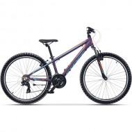"""Bicicleta CROSS Speedster 26"""" mov/ albastru/portocaliu 32 cm"""