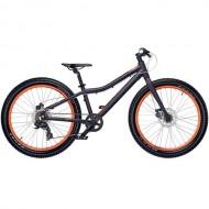 """Bicicleta CROSS Rebel Girl 24"""" mov/portocaliu 31 cm"""