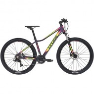 "Bicicleta CROSS Causa SL1 27.5"" mov dark/galben/roz 44 cm"