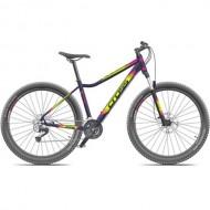 "Bicicleta CROSS Causa SL1 27.5"" mov dark/galben/roz 40 cm"