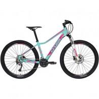 "Bicicleta CROSS Causa SL3 27.5"" vernil/mov/roz 44 cm"