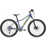 "Bicicleta CROSS Causa SL5 27.5"" mov/galben/verde/ albastru 40 cm"
