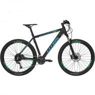 "Bicicleta CROSS Traction SL9 27.5"" negru/albastru/ verde 46 cm"