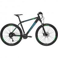 "Bicicleta CROSS Traction SL9 27.5"" negru/albastru/verde 51 cm"