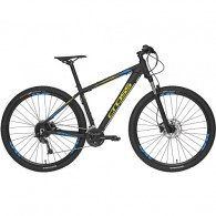 "Bicicleta CROSS Traction SL9 29"" negru/albastru/ galben 46 cm"