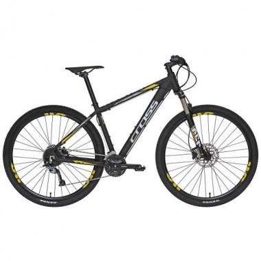 "Bicicleta CROSS Traction SL7 29"" negru/galben 46 cm"