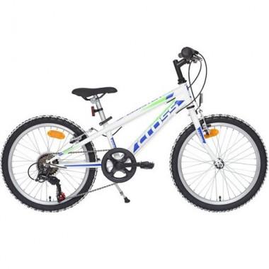"Bicicleta CROSS Speedster 20"" alb/albastru"