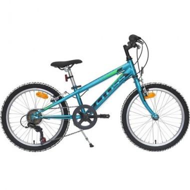 "Bicicleta CROSS Speedster 20"" turquoise/negru"