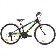 "Bicicleta CROSS Speedster 24"" negru/galben 30 cm"