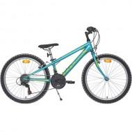 "Bicicleta CROSS Speedster 24"" albastru/galben 30 cm"