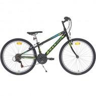 "Bicicleta CROSS Speedster 26"" negru/verde 32 cm"
