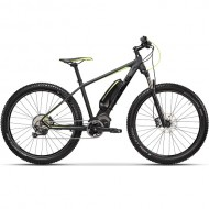 "Bicicleta E-Bike CROSS Element 27.5""+ gri/verde 44 cm"