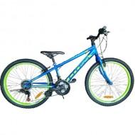 """Bicicleta CROSS Speedster 24"""" albastru/verde"""