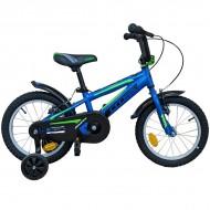 "Bicicleta CROSS Boxer 16"" - cadru aluminiu"