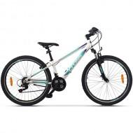 "Bicicleta CROSS Daisy 26"" Alb/Albastru/Mov"
