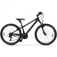 "Bicicleta CROSS Boxer 26"" Negru/Albastru/Verde"