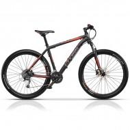 "Bicicleta CROSS GRIP PRO negru/rosu - 29"""