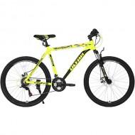 """Bicicleta ULTRA Agressor 26"""" galben/negru 44 cm"""