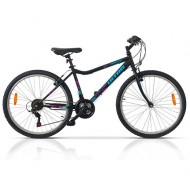 """Bicicleta ULTRA Gravita 26"""" negru 42 cm"""