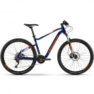 "Bicicleta HAIBIKE 2019 Seet HardSeven 5.0 27.5"" albastru/portocaliu/alb M"