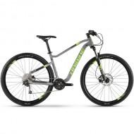 "Bicicleta HAIBIKE 2019 Seet HardNine 4.0 29"" gri/verde/negru M"