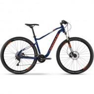 """Bicicleta HAIBIKE 2019 Seet HardNine 5.0 29"""" albastru/portocaliu/alb M"""