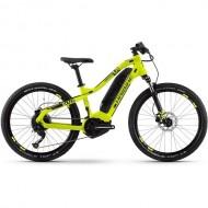 "Bicicleta E-Bike HAIBIKE SDuro HardFour 1.0 24"" galben/negru XS"