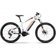 "Bicicleta E-Bike HAIBIKE SDuro HardSeven 5.0 27.5"" alb/albastru/portocaliu M"