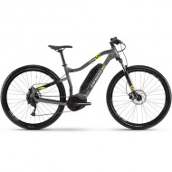 """Bicicleta E-Bike HAIBIKE SDuro HardNine 1.0 29"""" gri/galben L"""