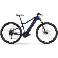 """Bicicleta E-Bike HAIBIKE SDuro HardNine 1.5 29"""" albastru/gri/portocaliu L"""