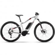 "Bicicleta E-Bike HAIBIKE SDuro HardNine 2.0 29"" argintiu/negru/rosu M"