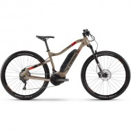 "Bicicleta E-Bike HAIBIKE SDuro HardNine 4.0 29"" sand/negru/rosu L"