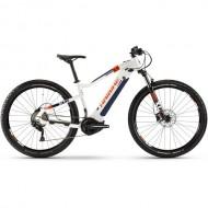 "Bicicleta E-Bike HAIBIKE SDuro HardNine 5.0 29"" alb/albastru/portocaliu L"