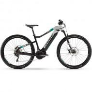 "Bicicleta E-Bike HAIBIKE SDuro HardNine 7.0 29"" negru/argintiu/turquoise L"