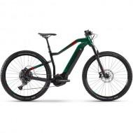 "Bicicleta E-Bike HAIBIKE SDuro HardNine 8.0 29"" verde/negru/rosu L"
