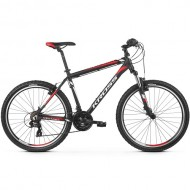 "Bicicleta KROSS Hexagon 1.0 V-brake 26"" negru/alb/rosu M"