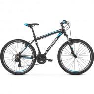 "Bicicleta KROSS Hexagon 1.0 V-brake 26"" negru/alb/albastru M"