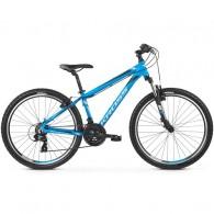 "Bicicleta KROSS 2019 Hexagon 1.0 V-brake 26"" albastru/alb/negru M"